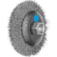 Abbildung PFERD Kegelbürste ungezopft, KBU, Edelstahldraht (INOX)