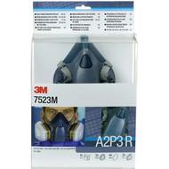 3M™ Gase-& Dämpfe-Maskenset A2P3 7523M