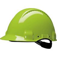 Abbildung 3M™ G3000 Schutzhelm G30DUV in Neongrün