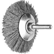 Abbildung PFERD Kegelbürste ungezopft, KBU, Kunststoffbesatz Keramikkorn (CO)