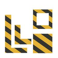 RK 625 - Formstanzteile zur Wand- & Bodenmarkierung