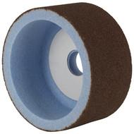 Keramisch konventionell für den Trockenschliff Für un- und niedriglegierte Stähle, hochlegierte Stähle und HSS.