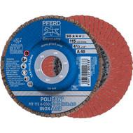 PFERD POLIFAN-Fächerscheibe A-COOL SG INOX+ALU