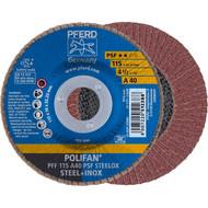 PFERD POLIFAN-Fächerscheibe PSF STEELOX