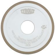 Abbildung Kunstharzgebundene Diamantscheiben für den Freiflächenschliff (Rückenschliff ) Für Hartmetall