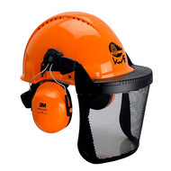 3M™ Kopfschutz-Kombination 3MO315C in Orange