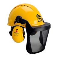 Abbildung 3M™ Kopfschutz-Kombination 3MY515B in Gelb