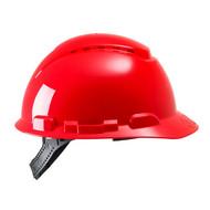 Abbildung 3M™ Schutzhelm H700-Serie H700CR in Rot