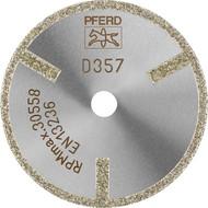 Abbildung PFERD Diamant-Trennscheibe D1A1R, Faserverstärkte Kunststoffe
