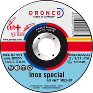 AS 46 / AS 30 T Inox Metall Trennscheiben