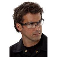 Abbildung 3M™ Schutzbrille 1200E0, Rahmen: grau, PC klar AS/AF + Beutel
