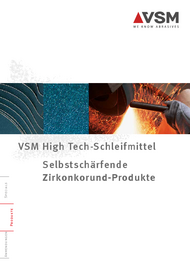 VSM High-Tech Schleifmittel Produktkatalog