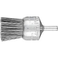 PFERD Pinselbürste ungezopft, PBU, Kunststoffbesatz Siliciumcarbid (SiC)