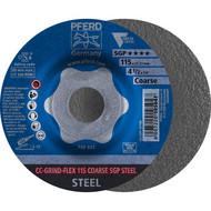 PFERD CC-GRIND-Schleifscheibe CC-GRIND-FLEX COARSE SGP STEEL