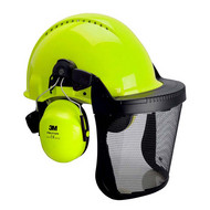 Abbildung 3M™ Kopfschutz-Kombination 3NV315J in Neongrün