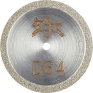 Abbildung PFERD Diamant-Trennscheibe D1A1R