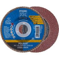 PFERD POLIFAN-Fächerscheibe PFC PSF STEELOX