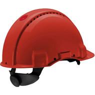 Abbildung 3M™ G3000 Schutzhelm G30NUR in Rot