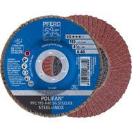 PFERD POLIFAN-Fächerscheibe PFC SG STEELOX
