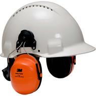 3M™ Peltor™ Kapselgehörschutz H31 Helmkapsel P3E, high-viz grün