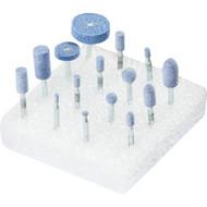 PFERD Schleifstift , Für den universellen Einsatz auf schwer zerspanbar, Schleifstift-Set 2002 TOUGH