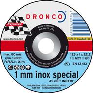 AS 60 T INOX 1 mm Metall Trennscheiben