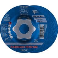 PFERD CC-GRIND-Schleifscheibe CC-GRIND-SOLID SGP INOX