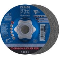PFERD CC-GRIND-Schleifscheibe CC-GRIND-SOLID SGP STEEL