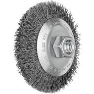 Abbildung PFERD Kegelbürste ungezopft, KBU, Stahldraht (ST)