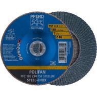 PFERD POLIFAN-Fächerscheibe PFC Z PSF STEELOX