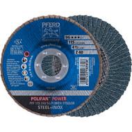 PFERD POLIFAN-Fächerscheibe SG POWER STEELOX