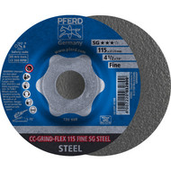 PFERD CC-GRIND-Schleifscheibe CC-GRIND-FLEX STEEL
