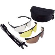 Abbildung 3M™ Maxim™ Ballistic Utility Pack Schutzbrille MBUtilP, PC DX, bronze, gelb