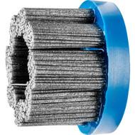 PFERD Tellerbürsten ungezopft, DBU, FLEX, Kunststoffbesatz Siliciumcarbid (SiC) – Ausführung