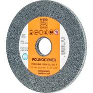 PFERD POLINOX-Kompaktschleifrad PNER, Ausführung für Winkelschleifer und Kehlnahtschleif