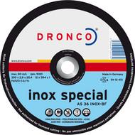 AS 36 S Inox Metall Trennscheiben